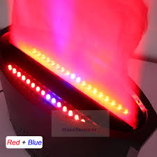 <b>2Pcs</b>/<b>Lot Stage Effect</b> LED Lamp Silk 1.5 2.2 Meter Red and Blue ...