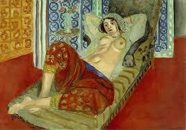 Odalisca con pantalones rojos, 1921