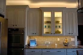 installing flexible strips in glass cabinet lighting cabinets lighting