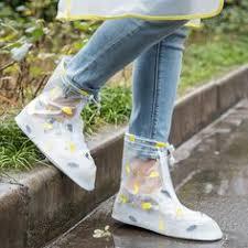 Cute Women's <b>Waterproof</b> Foldable Rubber <b>Rain</b> Boots Wellies Blue ...