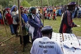 Fraud alleged in New Guinea poll   News News   Al Jazeera