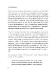 task centered approach  this essay takes a social work case study    page  zoom in