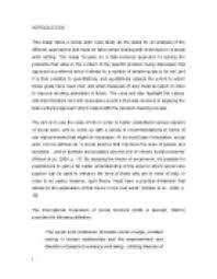 Social services essay        Original