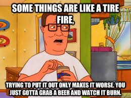 Narrow Urethra - Hank Hill Wisdom - quickmeme via Relatably.com