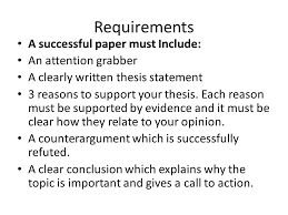 thesis statement argumentative essay argumentative essay topics thesis statement