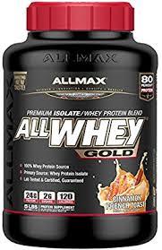 ALLMAX Nutrition <b>Allwhey Gold 100</b> Whey Protein Premium Whey ...