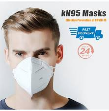 Anti Infection KN95 Masks <b>N95 5 Layers</b> Mask Particulate <b>Respirator</b> ...