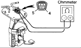 wiring diagram 98 toyota fuel pump 3 if you look at the wiring diagram you will see the wire colors for pin 4 and 5 next to the pump on the right of the diagram