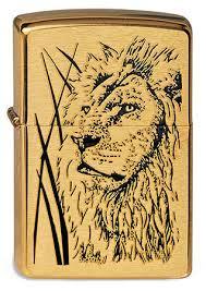 <b>Зажигалка ZIPPO</b> 204B <b>Proud</b> Lion