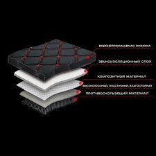 Автомобильные 3D <b>коврики</b> из экокожи, GRACETOUR