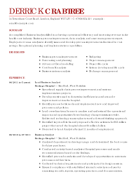 resume example analyst professional resume cover letter sample resume example analyst business analyst resume example business resume examples business sample resumes livecareer