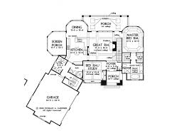 ePlans European House Plan   Square Feet and Bedrooms from    Level