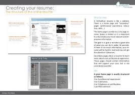 create an online resume   doyoubuzzcampus tecnologie  technologies creating your resume