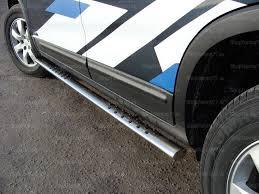 <b>Пороги овальные с</b> проступью 75х42 мм Kia Sorento (2009-)