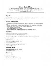 nursing assistant resume job description sample cna resume resume for management position no experience