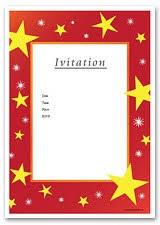 printable christmas invitation cards printable christmas party invitation templates