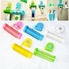 Plastic <b>Toothpaste Tube Squeezer</b> Easy Dispenser Rolling Holder ...