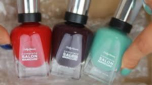 <b>Sally Hansen Complete Salon</b> Manicure Nail Polish Review ...