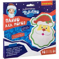 <b>Панно Дед Мороз</b>. Новогоднее творчество с Буки. <b>BONDIBON</b> ...