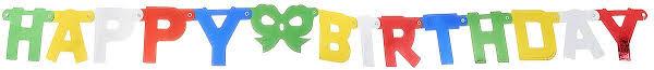 <b>Action</b>! <b>Гирлянда</b>-<b>буквы</b> С Днем Рождения! — купить в интернет ...