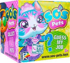 <b>Фигурка</b>-<b>сюрприз</b> Милые зверята <b>SOS PETS</b>. Купить аксессуар ...