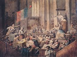 the french revolution a basic history frenchrevolution11 club of patriotic women in a church during the revolution