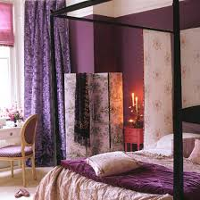 bedroom decorating ideas plum silver