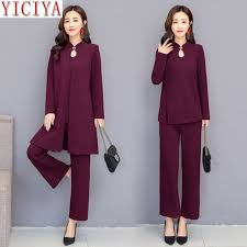 <b>YICIYA</b> purple 3 piece suit women <b>2</b> piece set winter autumn <b>outfits</b> ...