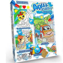 <b>Раскраска DankoToys</b> DT AQP-01-04 водная <b>Aqua</b> Painter: купить ...