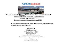 soltrans job openings driver bonus job fair memo page 1