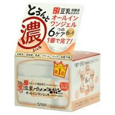 Крем-гель для лица <b>Sana увлажняющий</b> с изофлавонами сои 6 в 1