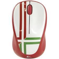 <b>Мышь Logitech</b> Wireless Mouse <b>M235 Red</b> — купить, цена и ...