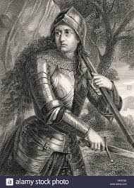 stock photos stock images alamy joan of arc jeanne d arc 1412 1431 character from the