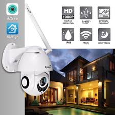 Zjuxin <b>IP Camera WiFi</b> 2MP <b>1080P</b> Wireless PTZ Speed Dome ...