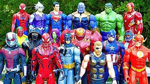 <b>Thanos</b> vs Avengers + Superman, Hulk, <b>Iron</b> Man, <b>Thor</b>, Spiderman ...