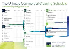 cleaning schedule template for office template cleaning schedule template for office