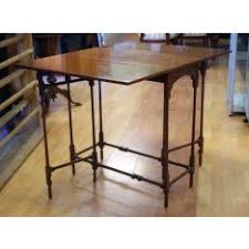 gateleg table x vintage mahogany spider gate leg table baker furniture label to unders