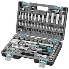 «<b>Набор инструментов Stels</b> 14106 <b>1/2</b>'' 1/4'' CrV пластиковый кейс ...