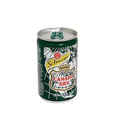 Напиток газированный Ginger Ale, Schweppes, <b>0.15</b> л ...