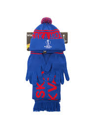 <b>Набор</b> EUROPA LEAGUE (шапка, шарф, перчатки) / Головные ...