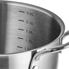 <b>Кастрюля Esprado</b> Fuerte, 20*11,5 см, <b>3</b>,<b>6 л</b>, нерж.сталь купить в ...