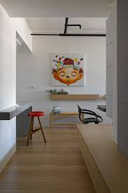delightful apartment in taiwan that features toys and travel souvenirs awesomely neat brazilian design milbank office