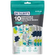Dr. Talbot's <b>Disposable Kid's</b> Face <b>Masks</b> - 10ct : Target