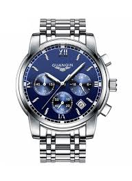 Shop <b>GUANQIN Men's</b> Waters Resistant Stainless <b>Steel</b> ...