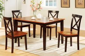 Low Dining Room Sets Eased Edge Profile Top Added Benches Minimalist Dining Room Design