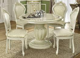 camel leonardo italian dining set round extending with 4 chairs buy italian furniture online