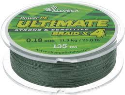 "<b>Леска</b> плетеная <b>Allvega</b> ""<b>Ultimate</b>"", цвет: темно-зеленый, 135 м, 0 ..."