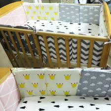 Newborn Bed Bumper Cotton/plush <b>Cute Baby Infant Bedding</b> Set ...