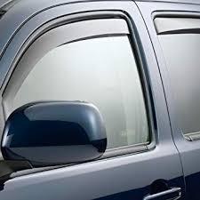WeatherTech Custom Fit Front & Rear Side <b>Window Deflectors</b>