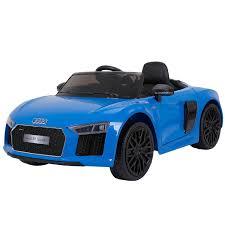 <b>Электромобиль Farfello Audi</b> R8 Spyder, цвет: синий, артикул ...